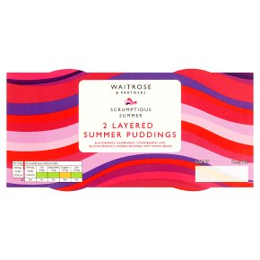 Waitrose Layered Summer Pudding