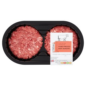No.1 Hand-Pressed Beef Burgers