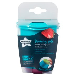 Tommee Tippee Pop-up Weaning pots