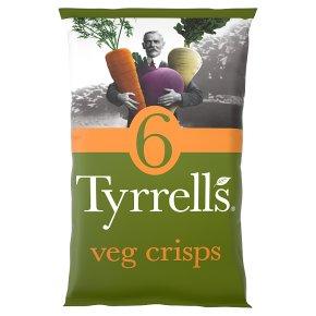 Tyrrells Veg Crisps Sea Salt