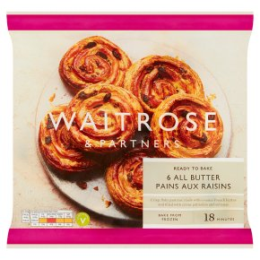 Waitrose 6 Pains aux Raisins
