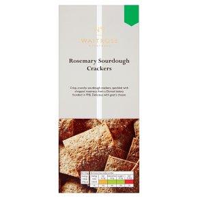 No.1 Rosemary Sourdough Crackers