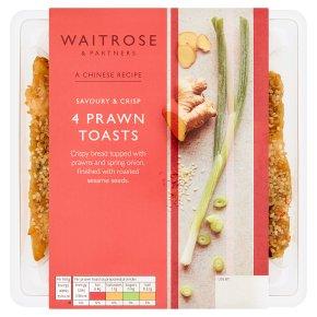 Waitrose Chinese 4 Prawn Toasts