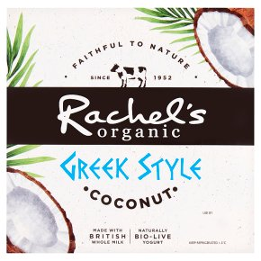 Rachel's Organic Greek Style Coconut Yogurts