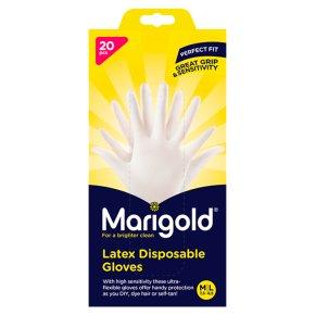 Marigold 20 Latex Disposable Gloves
