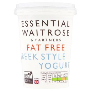 Essential Fat Free Greek Style Natural Yogurt