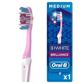 Oral-B 3D White Toothbrush | Waitrose & Partners