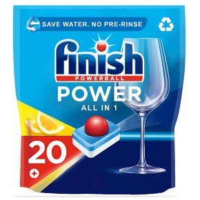 Finish Powerball All in 1 Max 20 Lemon Tabs