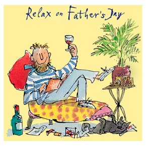 Relax on Fathers Day Card