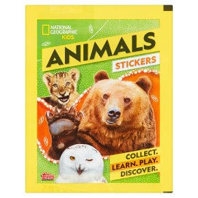 Nat Geographic Animal Stickers