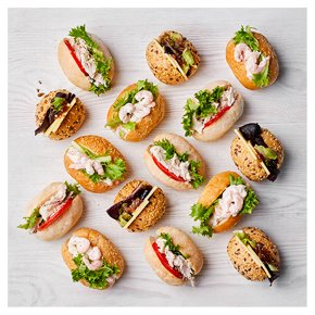 Assorted Roll Selection, 15 pieces