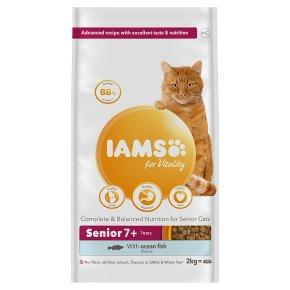 Iams for Vitality with Ocean Fish 7+