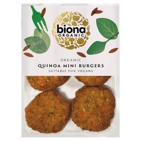 Biona Quinoa Mini Burgers