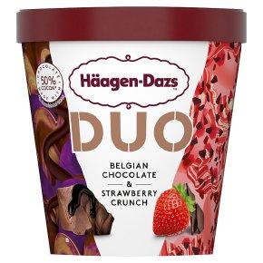 Häagen-Dazs Duo Chocolate & Strawberry Ice Cream