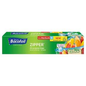 Bacofoil All Purpose Zipper Bags Medium