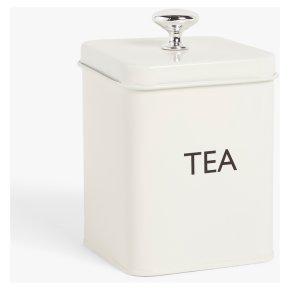 John Lewis Enamel Cream Tea Tin