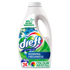 Dreft Morning Fresh Laundry Liquid 24w