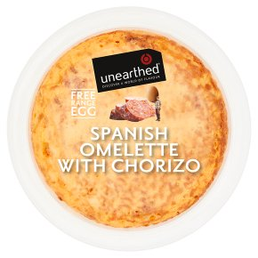 Unearthed Spanish Omelette with Chorizo