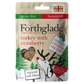 Forthglade Xmas Turkey Cranberry Soft Bit