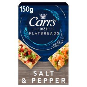 Carr's Flatbreads Salt & Pepper
