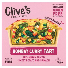 Clive's Organic Bombay Curry Tart
