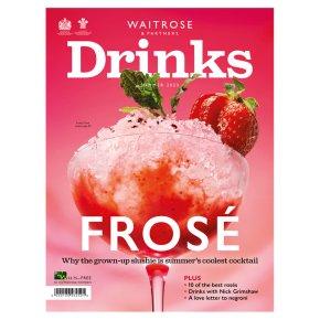 Waitrose & Partners Drinks magazine