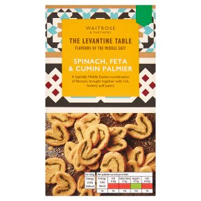 Levantine Table Spinach, Feta & Cumin Palmier