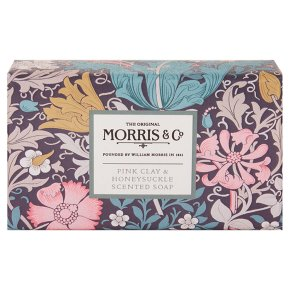 Morris & Co Pink Clay Soap
