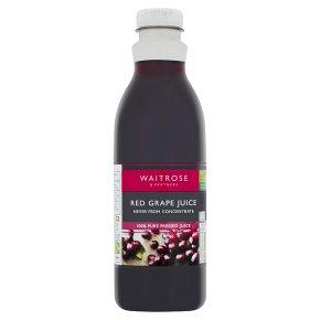 Waitrose Red Grape Juice