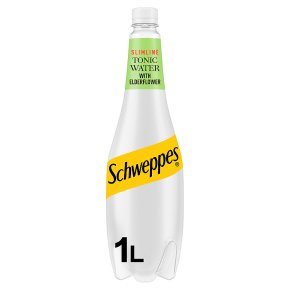 Schweppes Tonic Water Elderflower