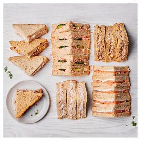 Fish Sandwich Selection, 20 pieces