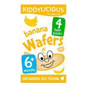 Kiddylicious Banana Wafers