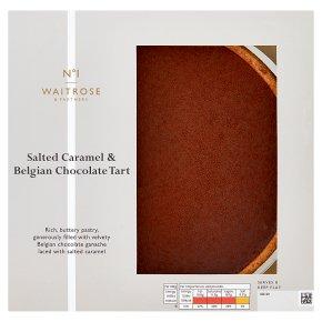 No.1 Salted Caramel & Chocolate Tart