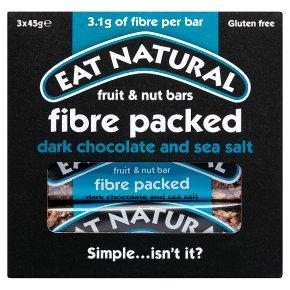 Eat Natural Fibre Packed Dark Chocolate & Sea Salt