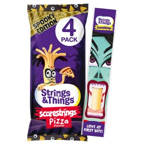 Strings & Things Cheestrings Pizza Flavour 4 Pack
