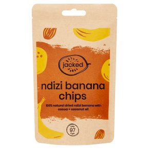 Jacked Ndizi Chips Banana with Cocoa