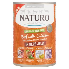 Naturo Beef with Chicken in Herb Jelly