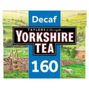 Taylors of Harrogate Yorkshire Tea Decaf 160 Tea Bags