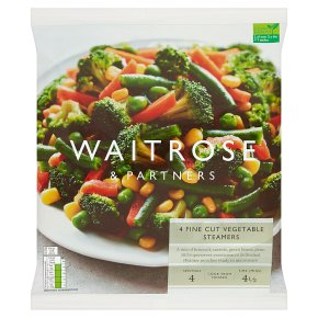 Waitrose Fine Cut Vegetable Steamers