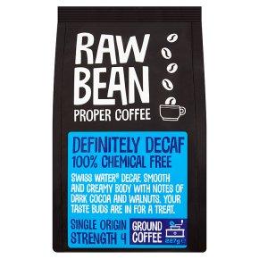 Raw Bean Definitely Decaf Ground Coffee