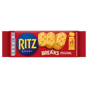 Ritz Breaks original 6 portion packs