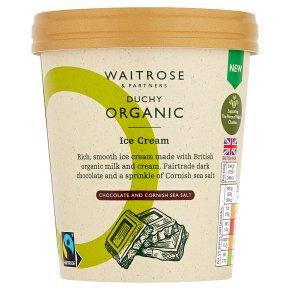 Duchy Organic Chocolate & Cornish Sea Salt Ice Cream