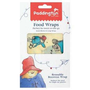 Paddington Bear Food Wraps 3s
