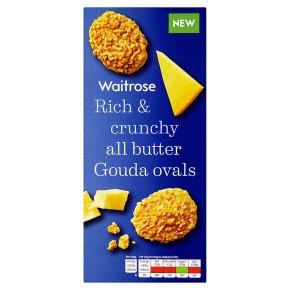 Waitrose all butter Gouda ovals