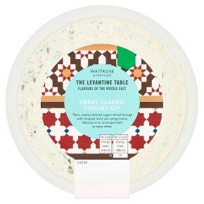 Levantine Table Herby Labneh Yogurt Dip