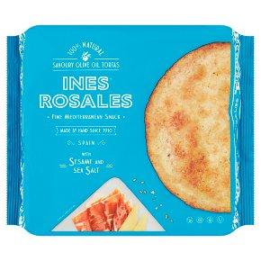 Ines Rosales Tortas Sesame & Sea Salt