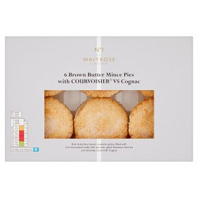 No.1 6 Brown Butter Mince Pies