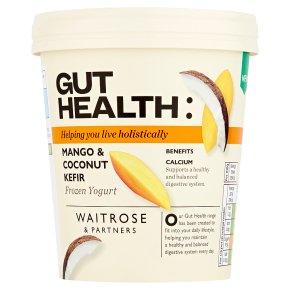 Waitrose Gut Health Mango & Coconut Kefir Frozen Yogurt