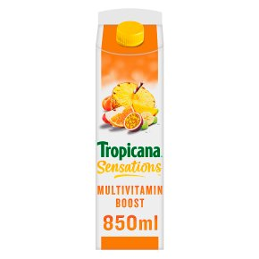 Tropicana Multivitamins Pressed Fruit Juice
