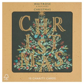 Waitrose Christmas Joy Charity Cards